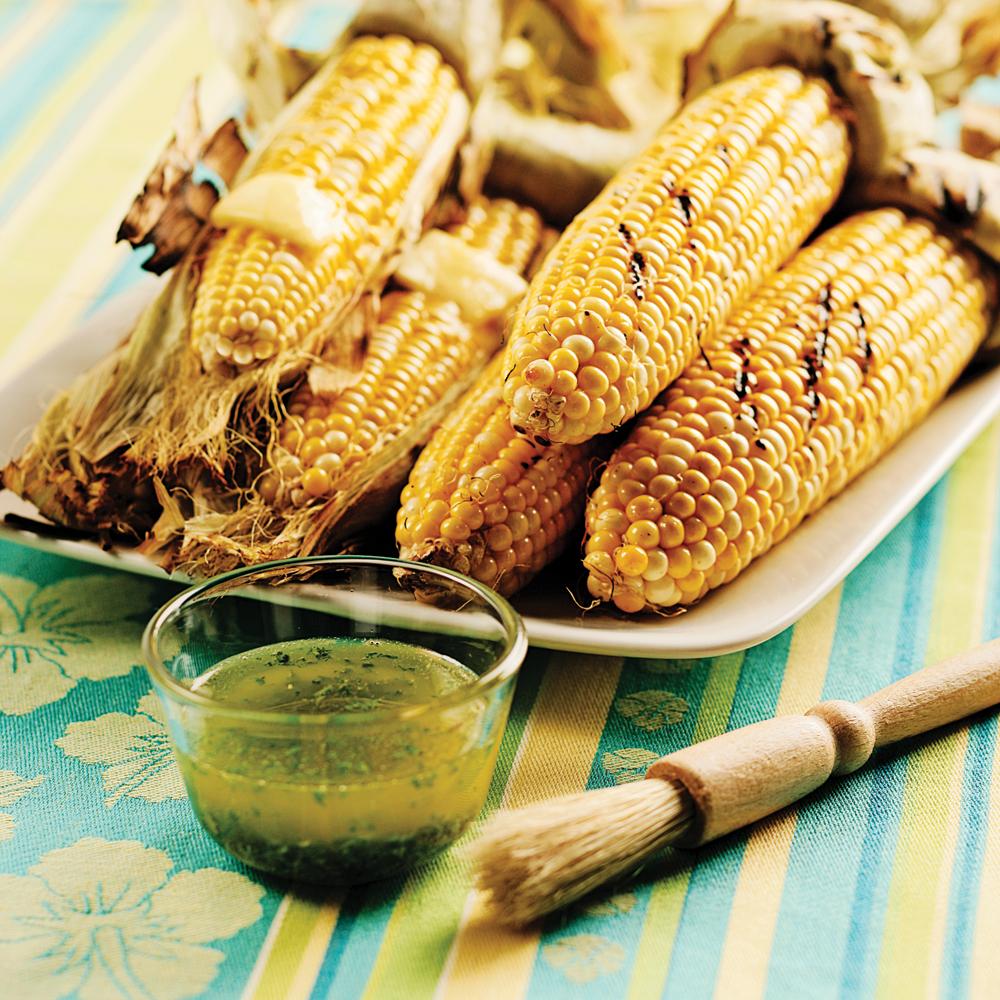 Maïs grillés au beurre citronné