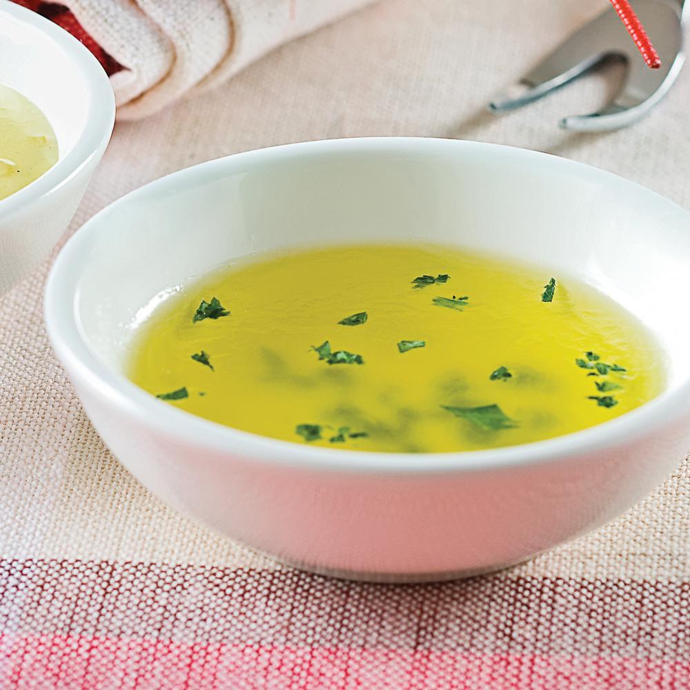 Beurre citronné pour fruits de mer