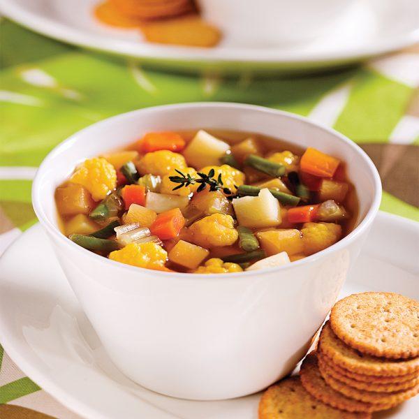 Soupe aux huit légumes