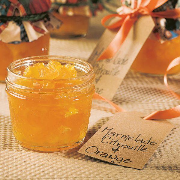 Marmelade de citrouille et d'orange