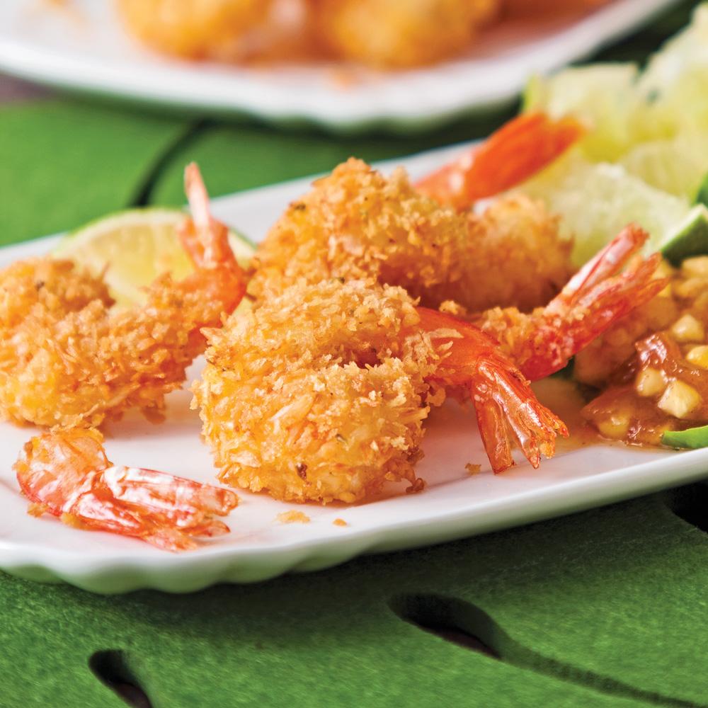 Crevettes coco