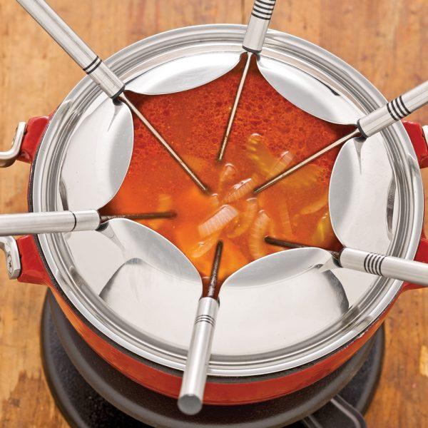 Bouillon pour fondue à l'italienne