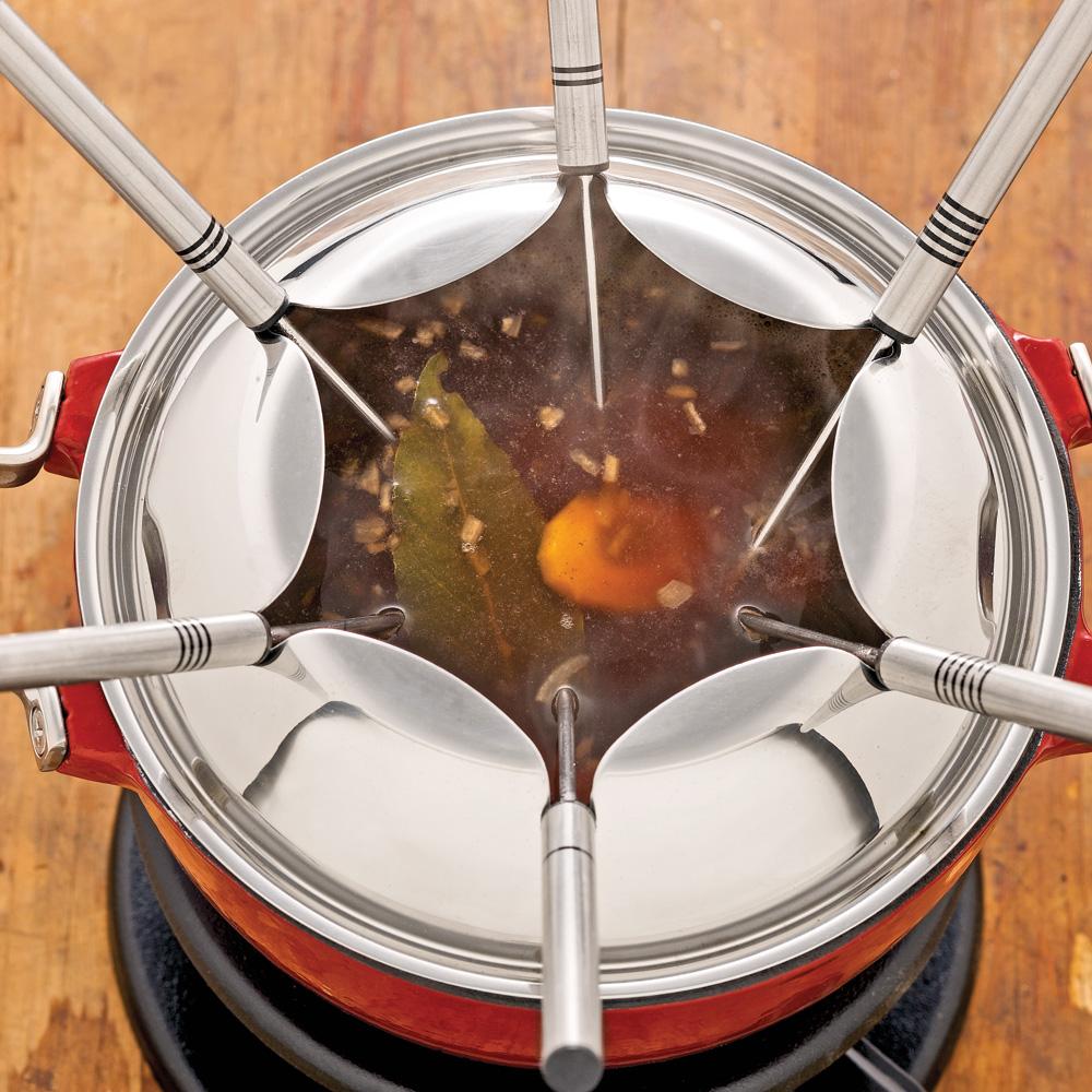 Bouillon à fondue chinoise express
