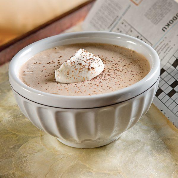 Chocolat chaud au parfum de café