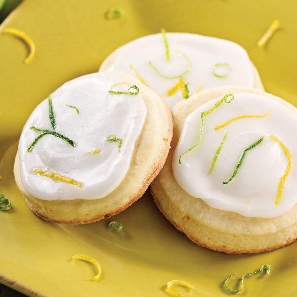 Sablés citron-lime