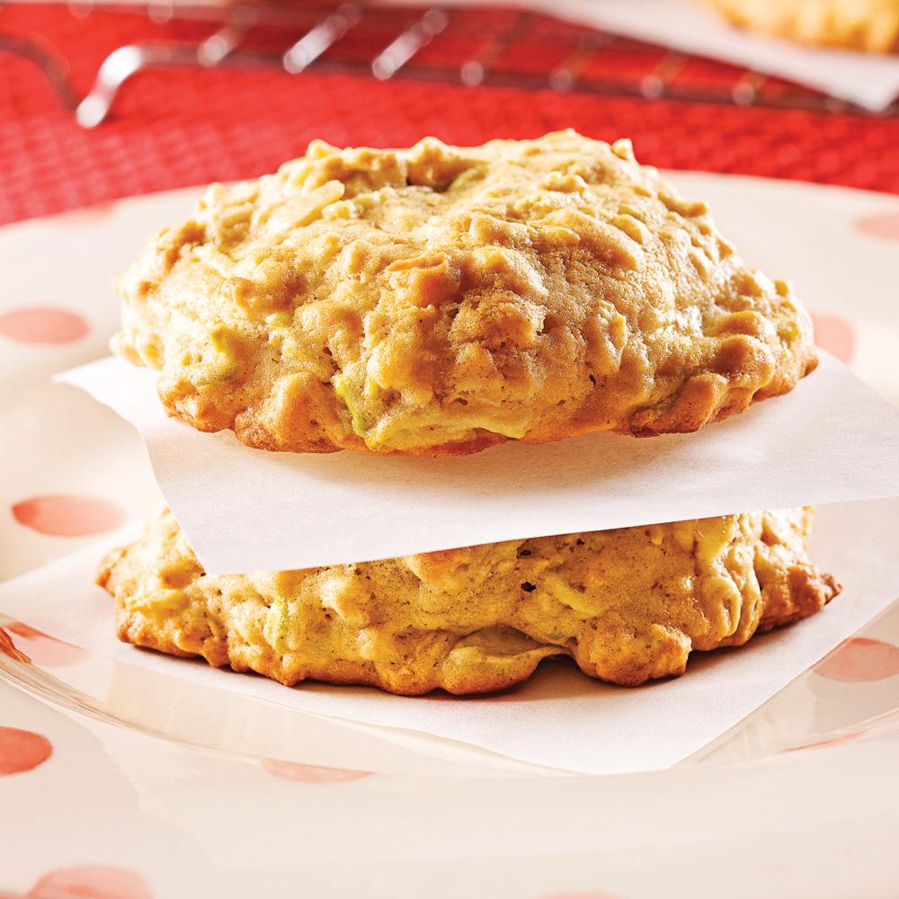 Biscuits tendres à l'avoine et aux trois fruits