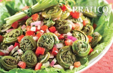 Salade de têtes-de-violon