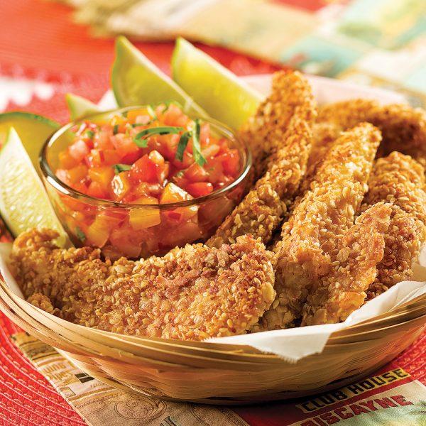 Filets de poulet sans friture