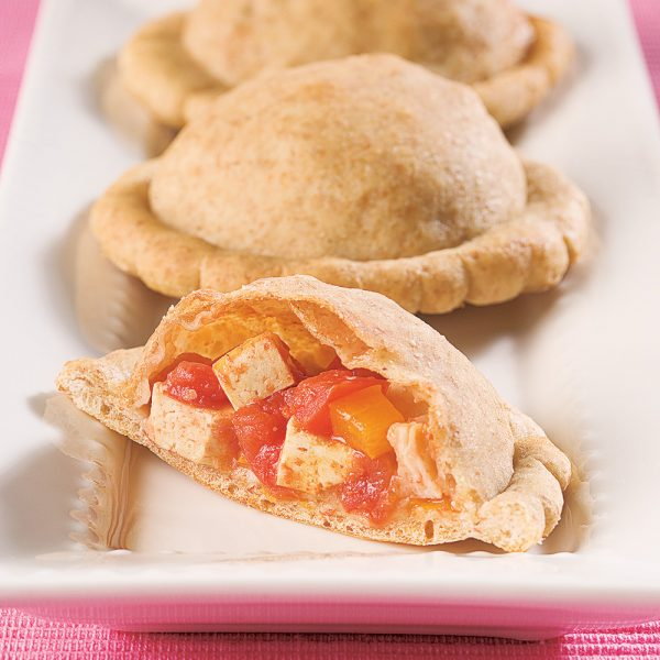 Pizzas pochettes végétariennes