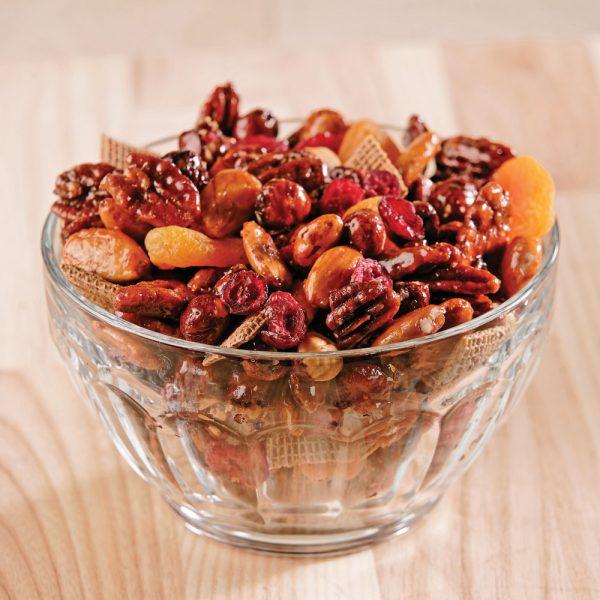 Mélange énergie aux noix et aux fruits