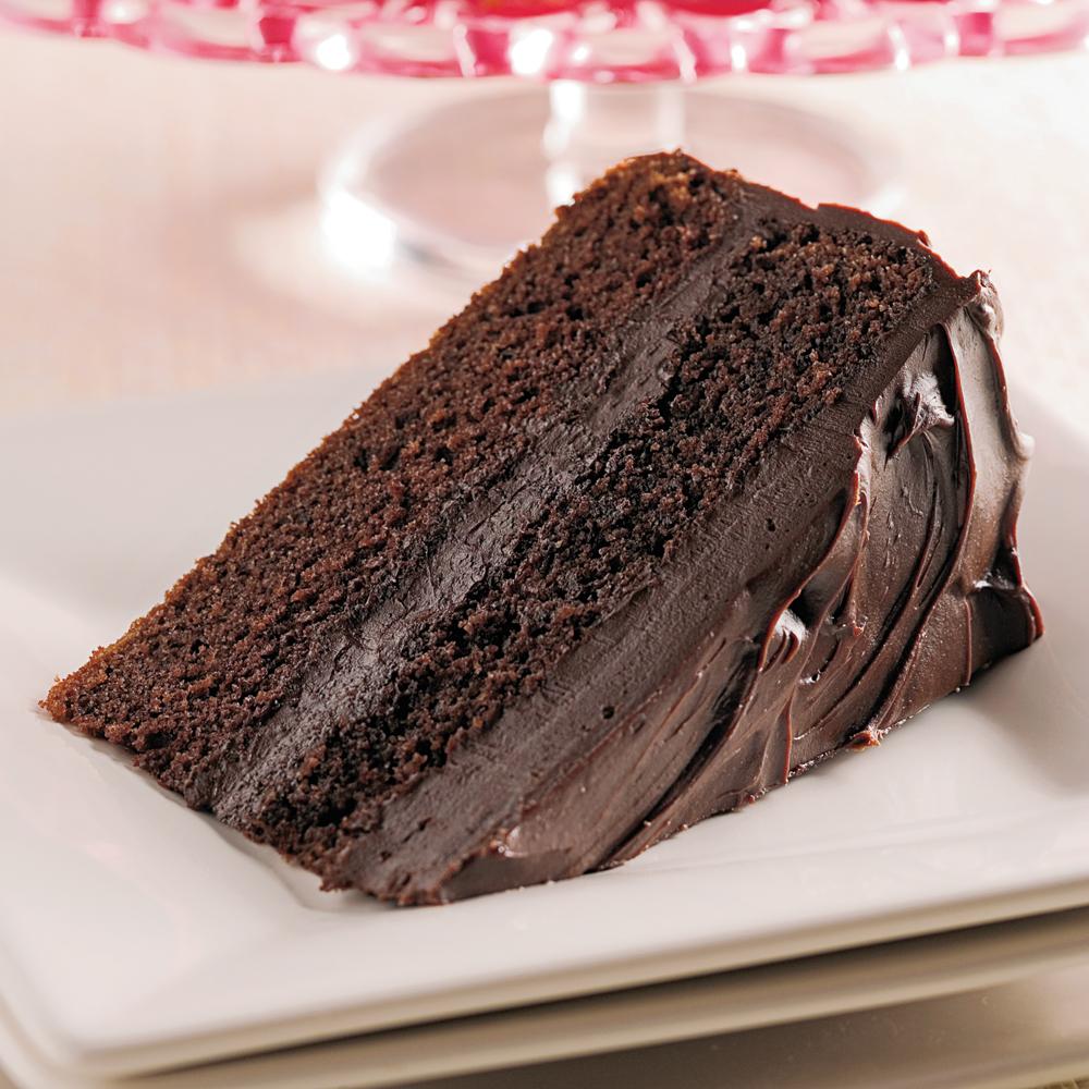 Gâteau doublement chocolaté