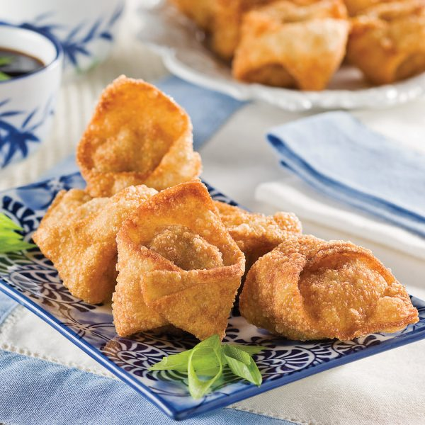 Wontons frits au porc