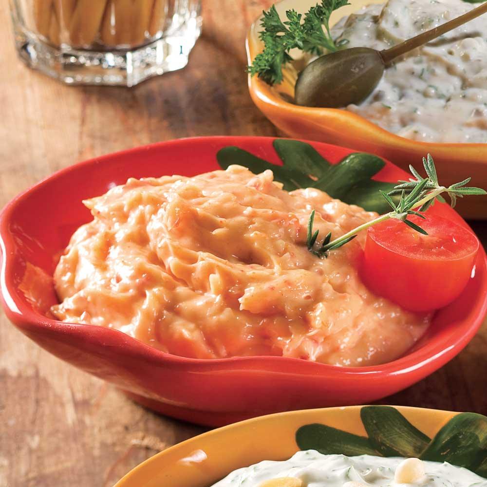 Sauce au parmesan pour fondue