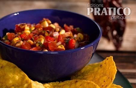 Salsa aux tomates et au maïs de Bernardin