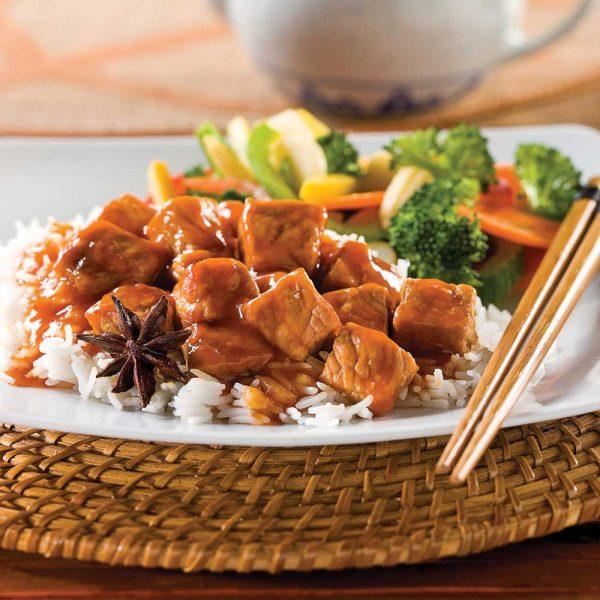Mijoté de porc à la chinoise