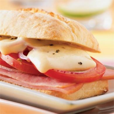 Sandwichs chauds à la raclette