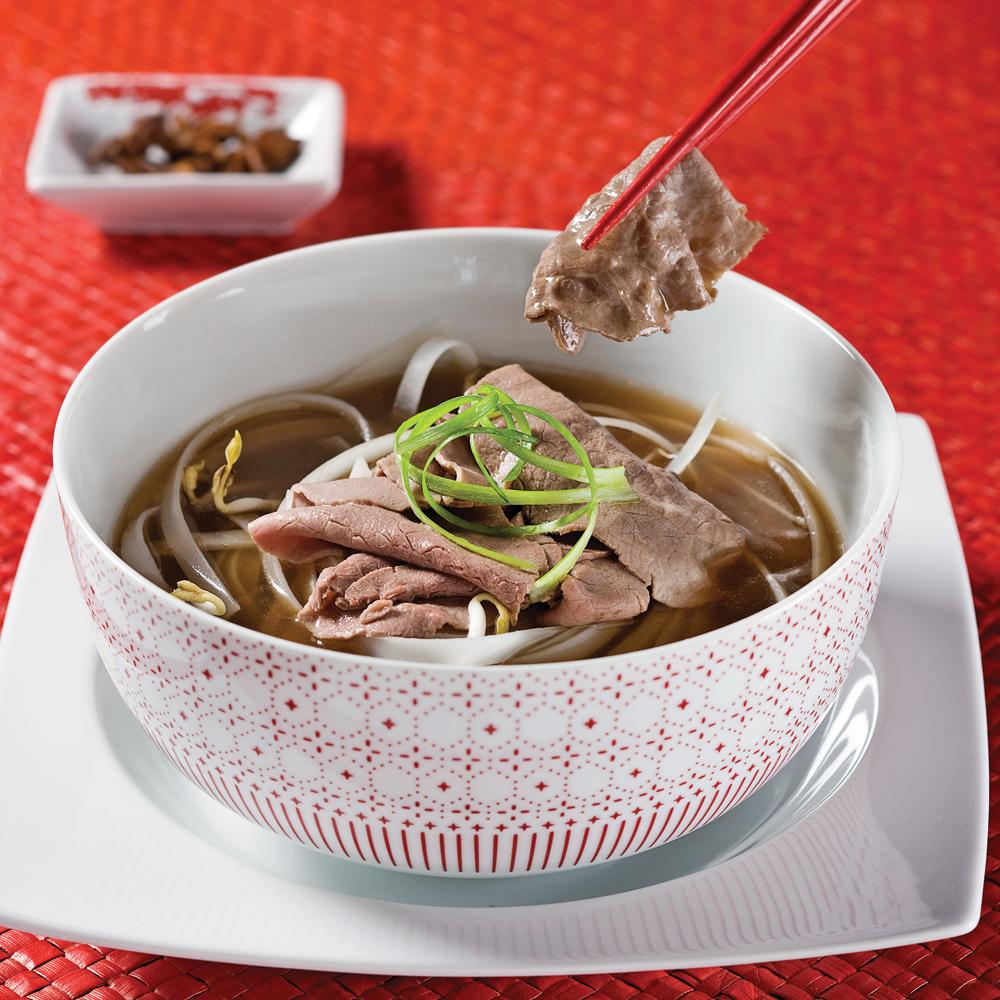 Soupe vietnamienne au boeuf