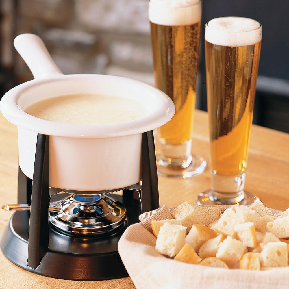 Fondue au fromage et à la bière