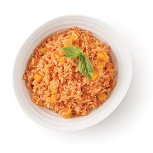 Riz épicé aux tomates et poivrons