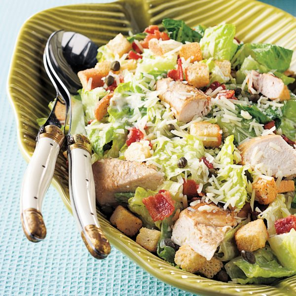 Salade de dinde façon César