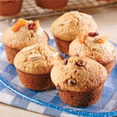 Trio de muffins gourmands