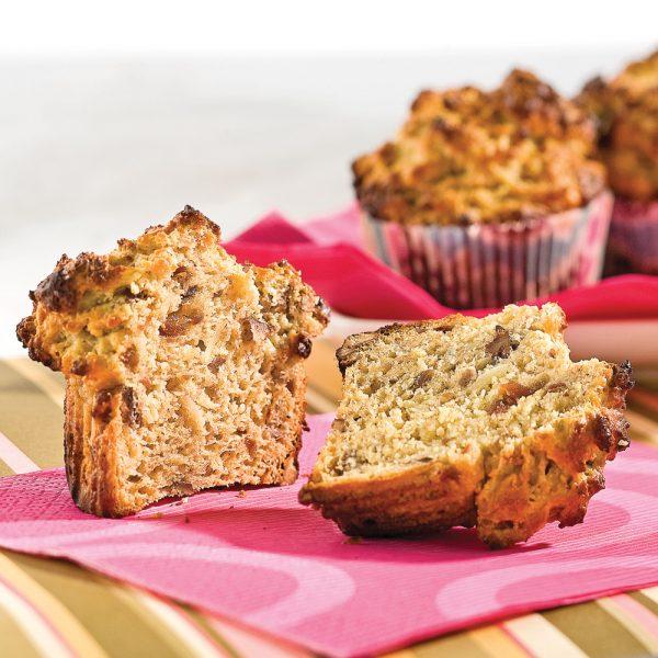 Muffins nutritifs aux bananes et dattes