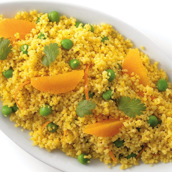Couscous cari et orange