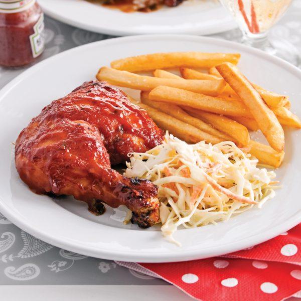 Cuisses de poulet caramélisées