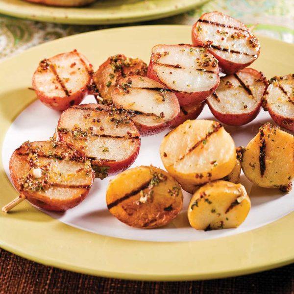 Pommes de terre grelots à la moutarde
