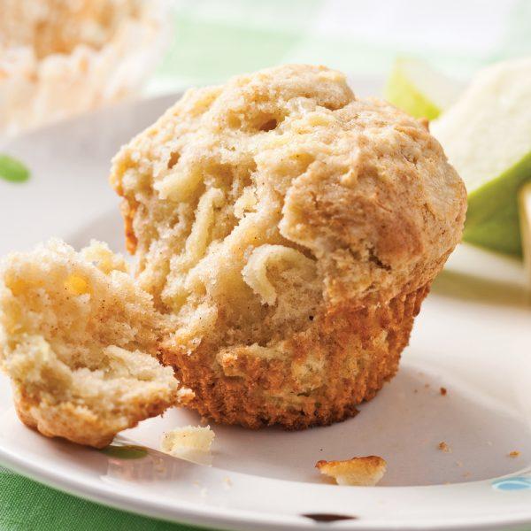 Muffins pommes-cheddar
