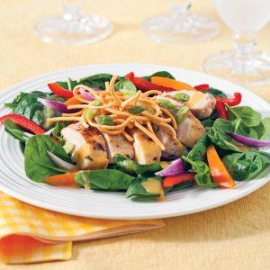 Salade de poulet express à l'asiatique