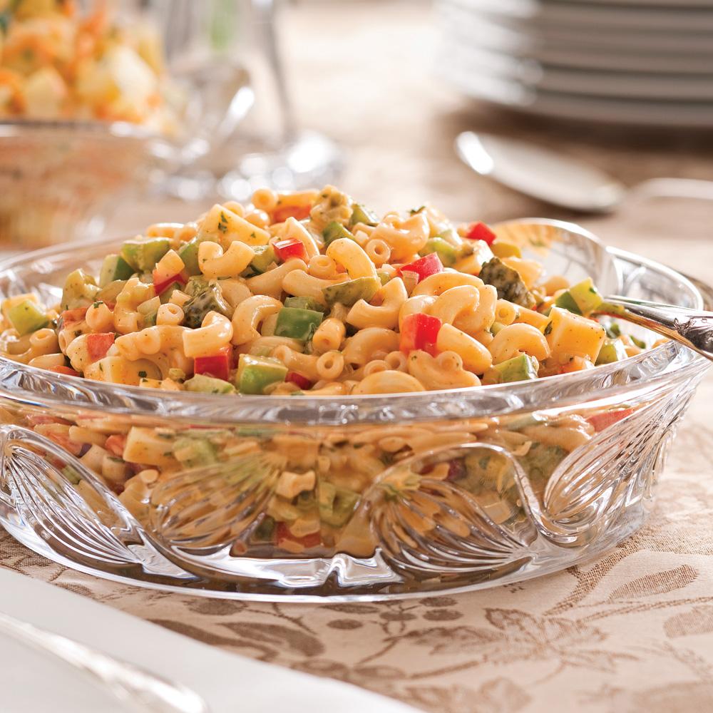Salade de macaronis crémeuse