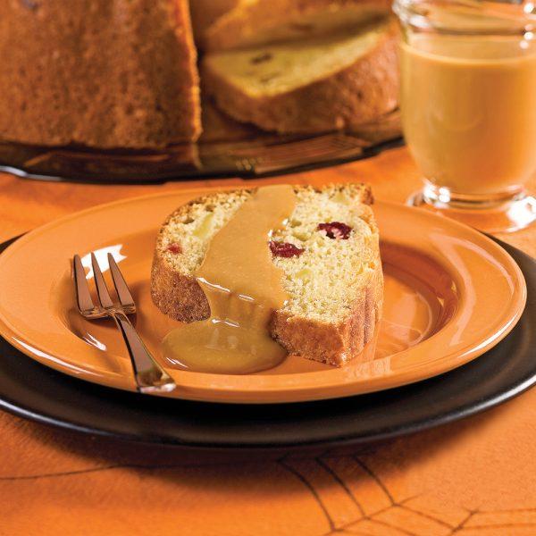 Gâteau à la citrouille et aux pommes
