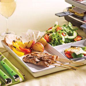 Raclette à la grecque