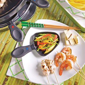 Raclette asiatique