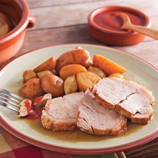 Rôti de porc au parfum du Maghreb