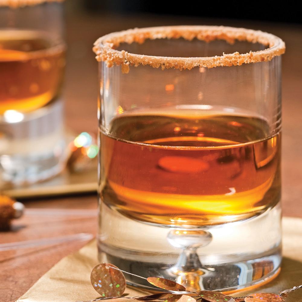 Cocktail gingembre-érable