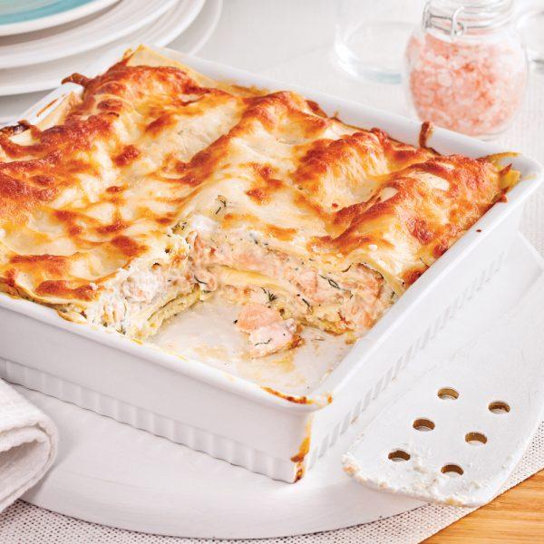 Lasagne au saumon facile à faire