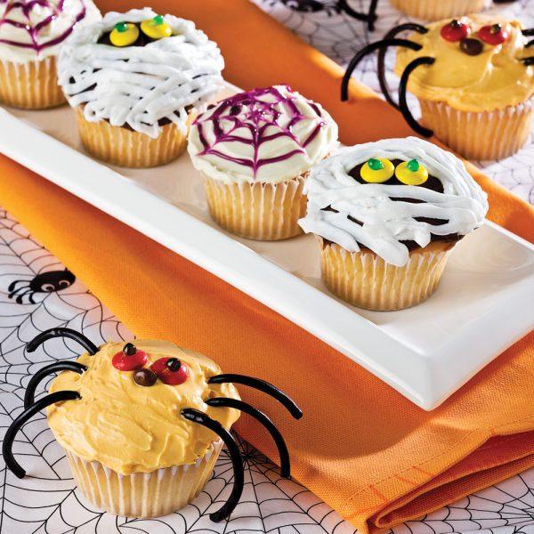 Cupcakes au citron et à la citrouille