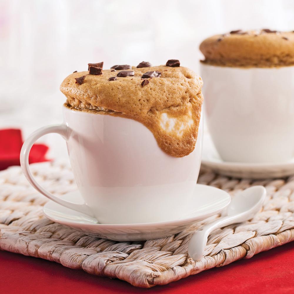 «Mug cake» chocolat espresso