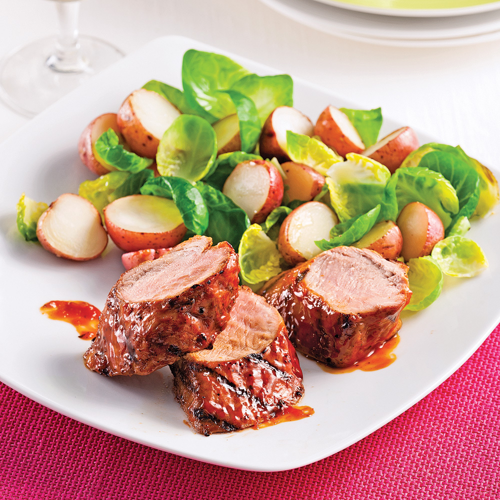 Filets mignons de porc, style ribs