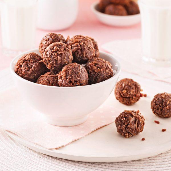 Boules au chocolat