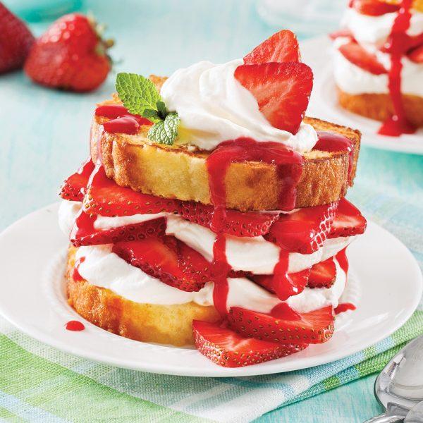 Shortcake aux fraises express