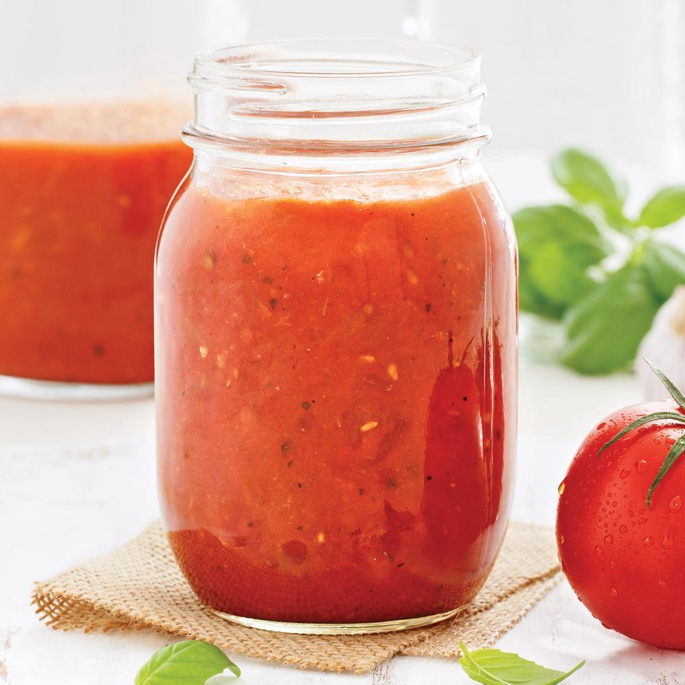 Sauce tomate au parfum d'Italie