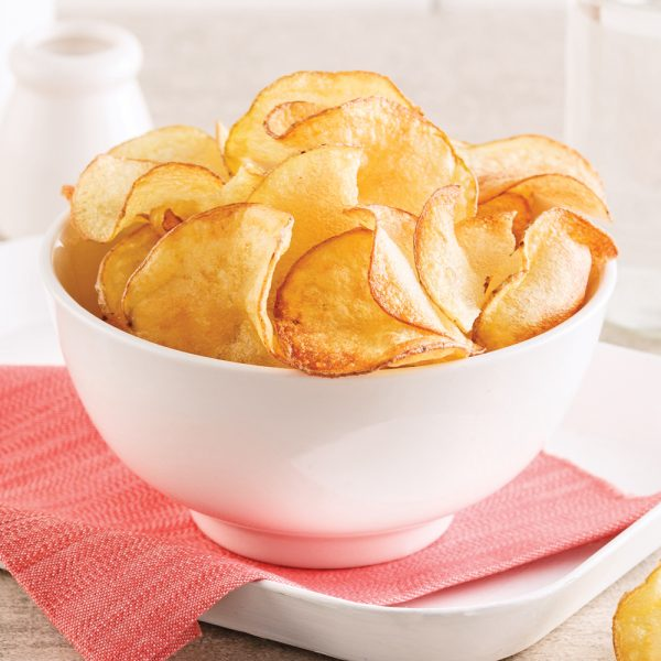 Chips santé au micro-ondes