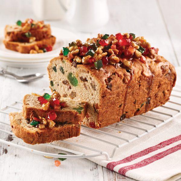 Gâteau aux fruits séchés et noix