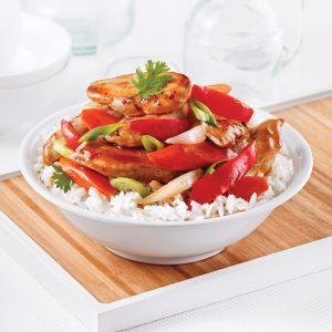 Poulet aux épices et légumes