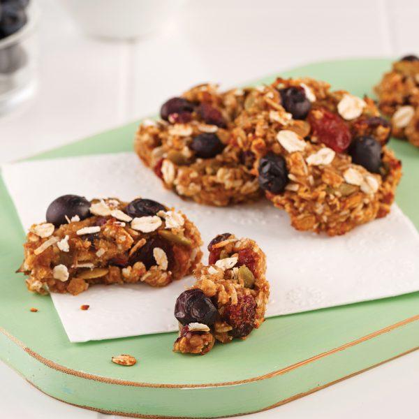 Biscuits au gruau sans sucre