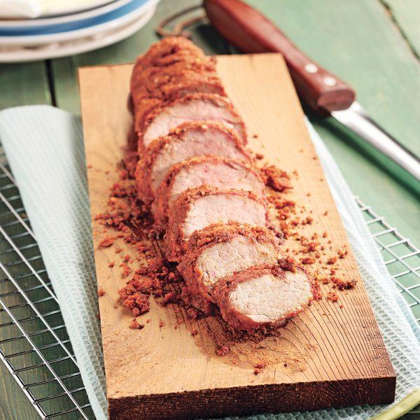 Filets de porc épicés