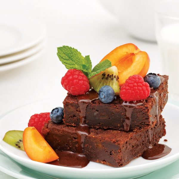Brownies sucrés à la purée de dattes
